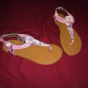 Other - Brand new never worn big girls pink sandals